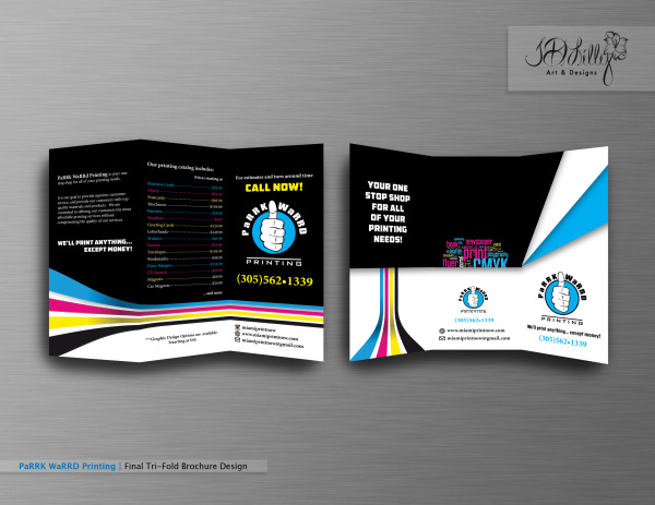 Parrk-Warrd-Brochure Design