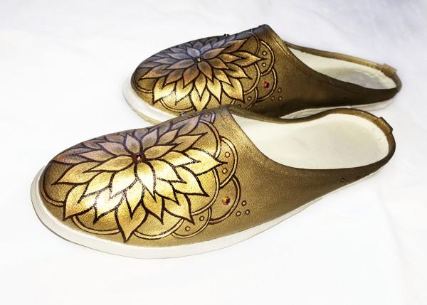 Unity Flower Mandala - Gold
