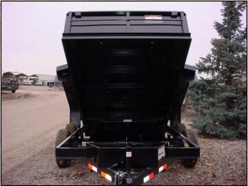Dump Trailer, C&B, Single Piston, Trailer, 10k, Heavy Duty