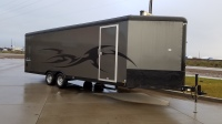 2017 Mirage Xtreme Sport Blackout Enclosed Trailer for sale at Terrys Truck & RV in Mountain Home, ID