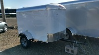 2017 - Mirage Xcel Cargo 4'x6' in Crystal White available at Terrys Truck and RV in mountain home, Idaho