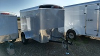 2017 - Mirage Xcel Cargo 5'x8' in Diamond Ice Paint available at Terrys Truck and RV in mountain home, Idaho
