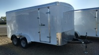 2016 grey gooseneck mirage xtreme sport enclosed trailer for sale in mountain home, ID at Terrys Truck and RV