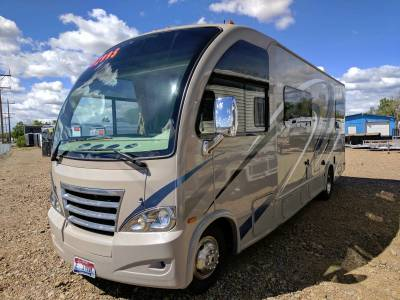 2016 Thor Axis Motor Coach with only 4065 miles at Terrys Truck and RV in Mountain home idaho