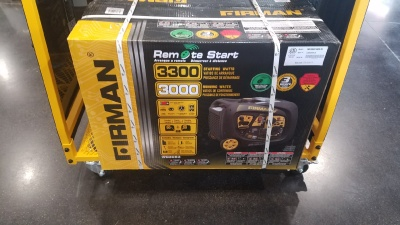 3000 W Firman Generator with remote start now on sale at Terrys Truck and RV in Mountain Home Idaho
