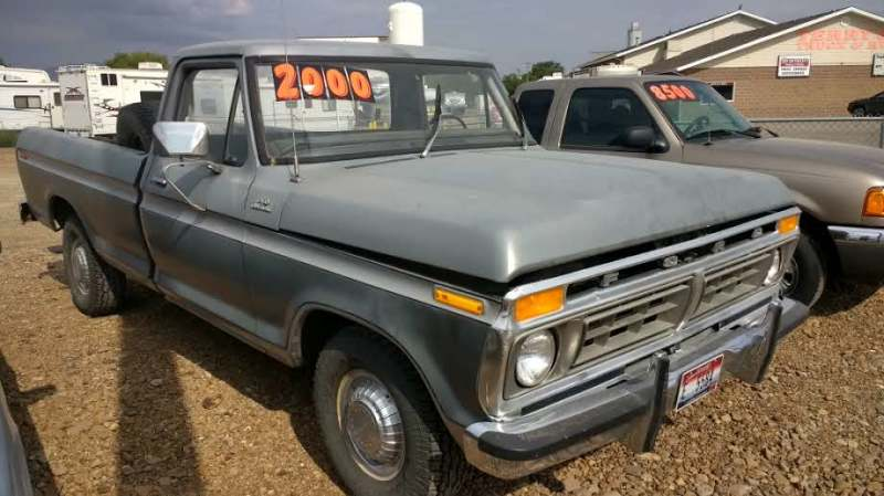 1977 Ford F-150 Pickup primer Grey
