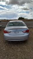 Silver 2013 Hyundai Sonata on gravel in Mountain Home, Idaho
