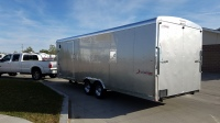 Pewter Mirage Xtreme Sport Enclosed Trailer 8.5'x28' in Mountain Home, Idaho