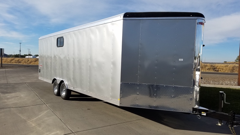 Pewter 2018 Mirage Xtreme Sport Enclosed Trailer 8.5'x28' in Mountain Home, Idaho