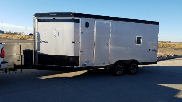 20ft Snowmobile Trailer Mirage Xtreme Sport Deluxe Blackout in Mountain Home Idaho