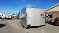 Dove Grey Mirage Xtreme Snow Enclosed Trailer 8.5'x20' in Mountain Home, Idaho