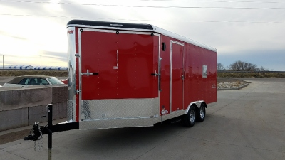 Brandywine 2018 Mirage Xtreme Sport Enclosed Trailer 8.5'x28' in Mountain Home, Idaho