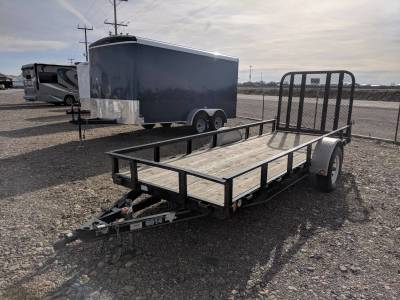 5x14 Flatbed with Ramp $1,199
