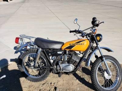 1974 Kawasaki 100 Motorcycle - 1,199