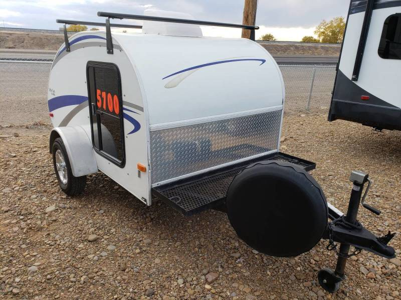 Crystal White Mirage Xtreme Sport Enclosed Trailer 8.5'x28' in Mountain Home, Idaho