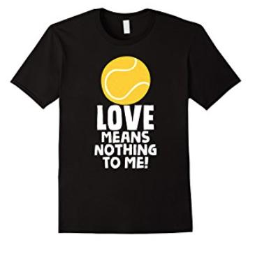 tennis shirt, i love tennis