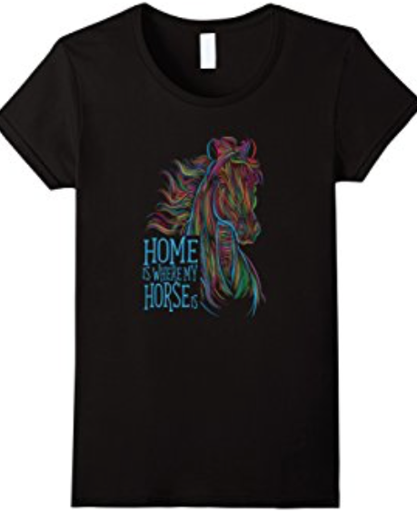 cute horse apparel. gift for girl who loves horses