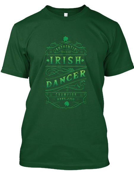 Irish Dancer T-shirt for everyone