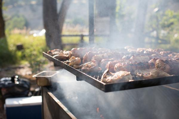 A full grill!