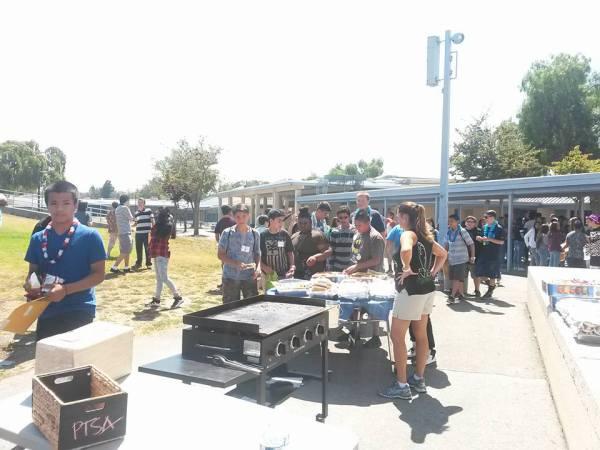 Freshman BBQ - Aug 21, 2015