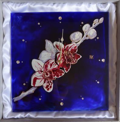 CLOCK <ORNELLA>       35 x 35 cm