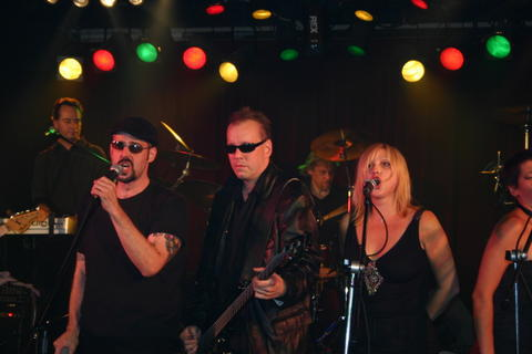 The coolest band on the planet: Harvey, Mike, Rod & Ronda