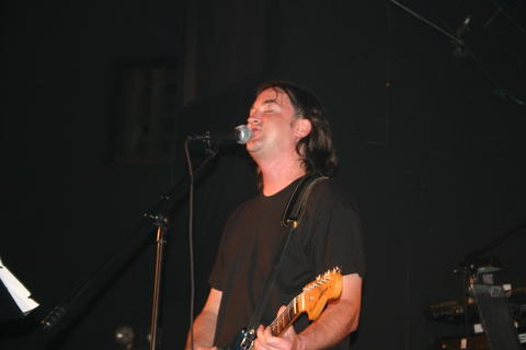 A sweaty Steve Morrison