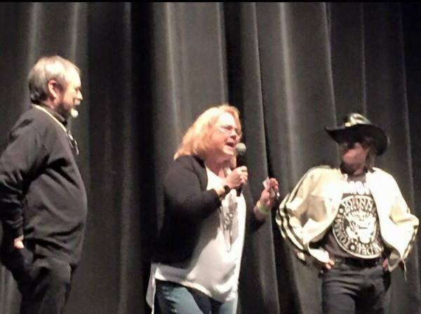 Phil Kirzyc, XX Sales Director Judy Smith & DJ Bird