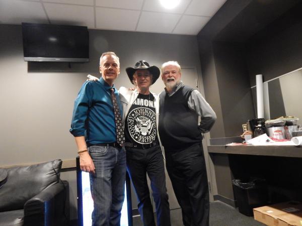 Dave Reedy, DJ Bird & Garrett Hart