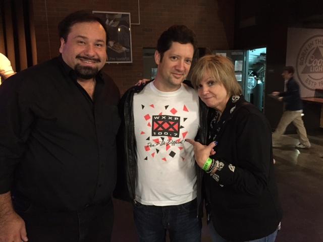 Paul & Cris meet a fan with an original XX T-Shirt!