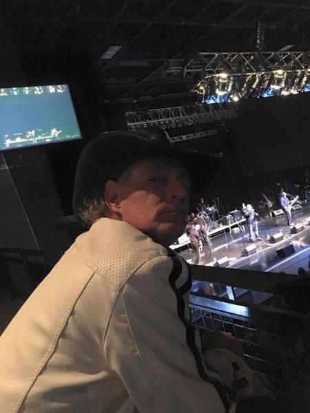 DJ Bird watches the soundcheck