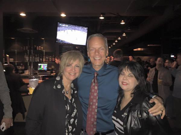 Cris, Dave and original XX intern Francine Liberto