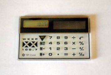 XX Solar Calculator - 1986
