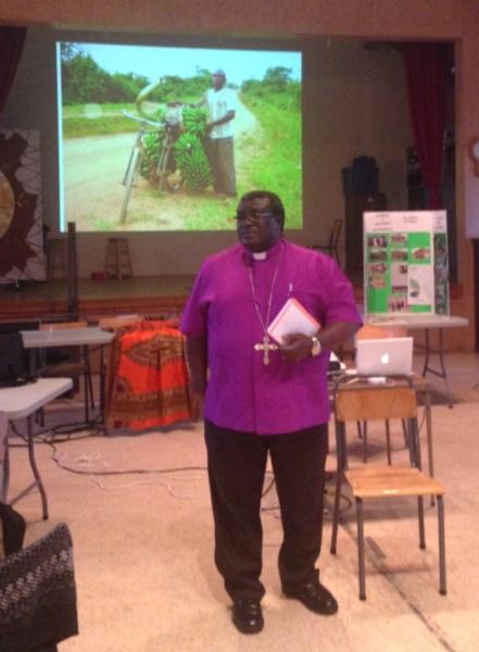 Bishop Jackson Matovu, Diocese of Central Buganda