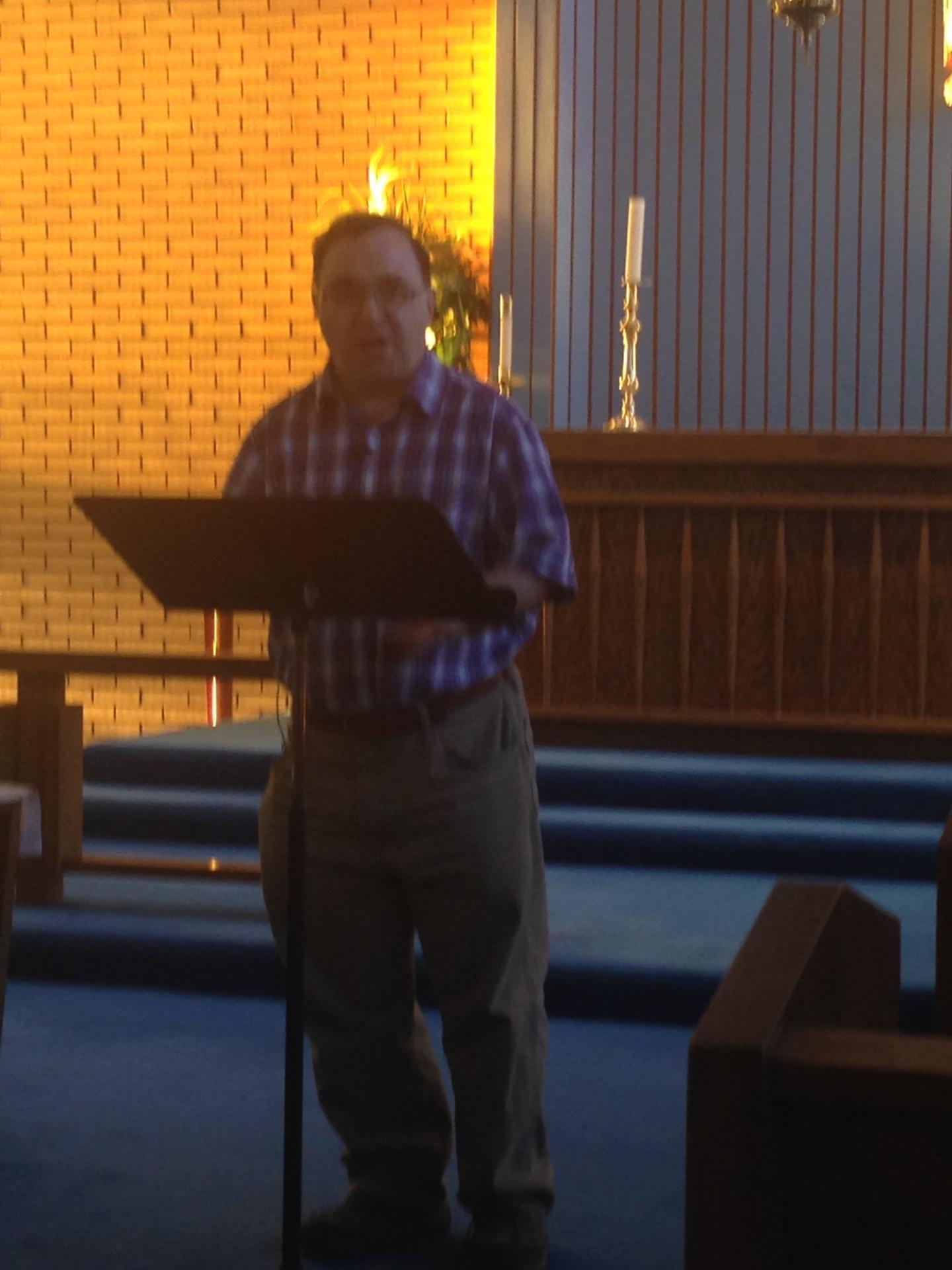 Deacon Gilles Urquhart