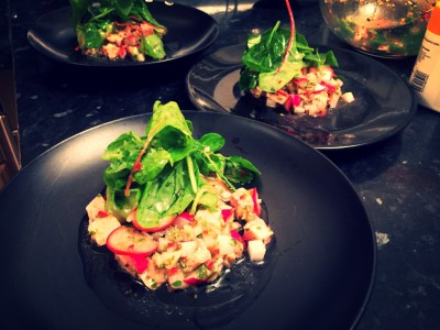 Ceviche - time to cure your winter blues!
