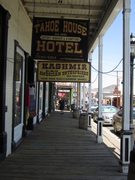 Virginia City, a real live Wild West town!