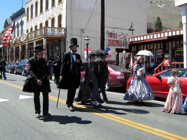 Virginia City Parade on Labor Day