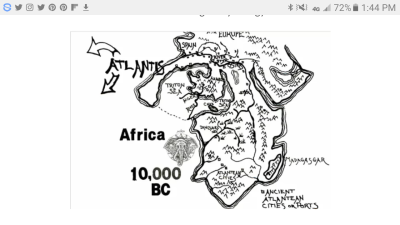 Did Nubia and Atlantis Merge to Form Egypt?