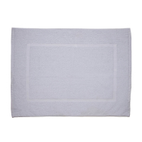 Martex Cam Single Frame White Bath Mat