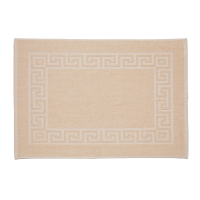 Martex Cam Greek Key Ecru Bath Mat