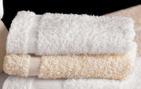Martex Cam White and Ecru Wash Towels