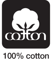 100 percent cotton icon