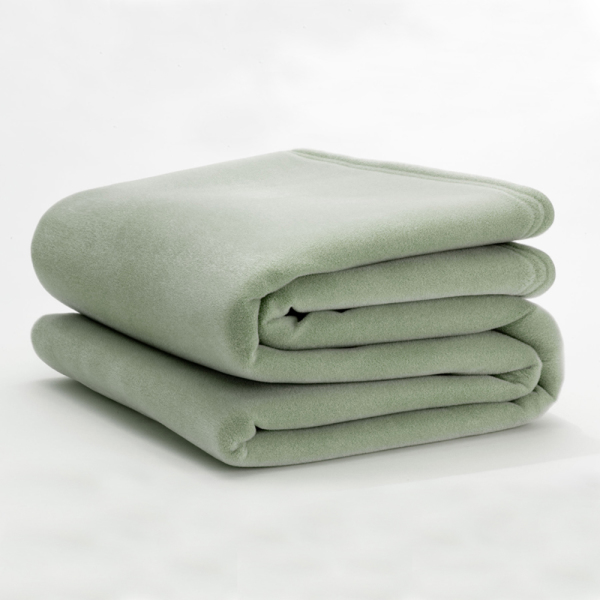 vellux classic pale jade blanket
