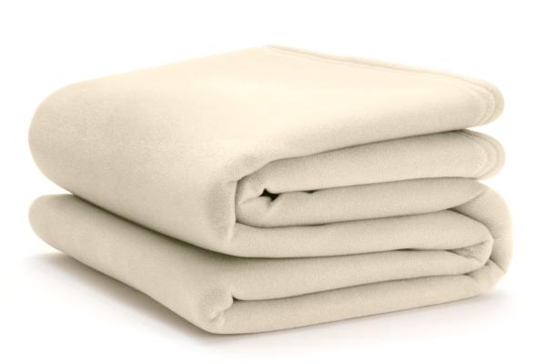 vellux classic ivory blanket