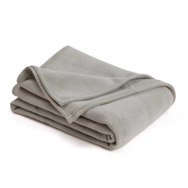 vellux classic graphite blanket