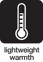 lightweight warmth icon