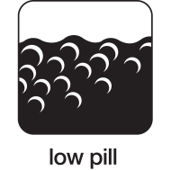 low pill icon