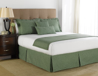 martex prints green leaf floral bedding