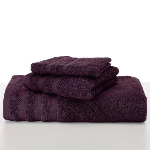 martex egyptian black plum towels